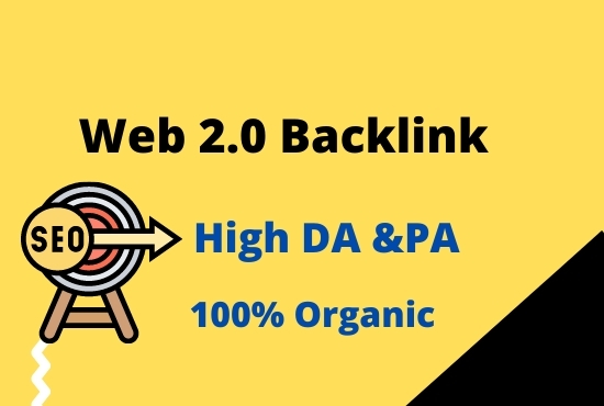 I can create 50 web 2.0 manual high quality Backlinks.