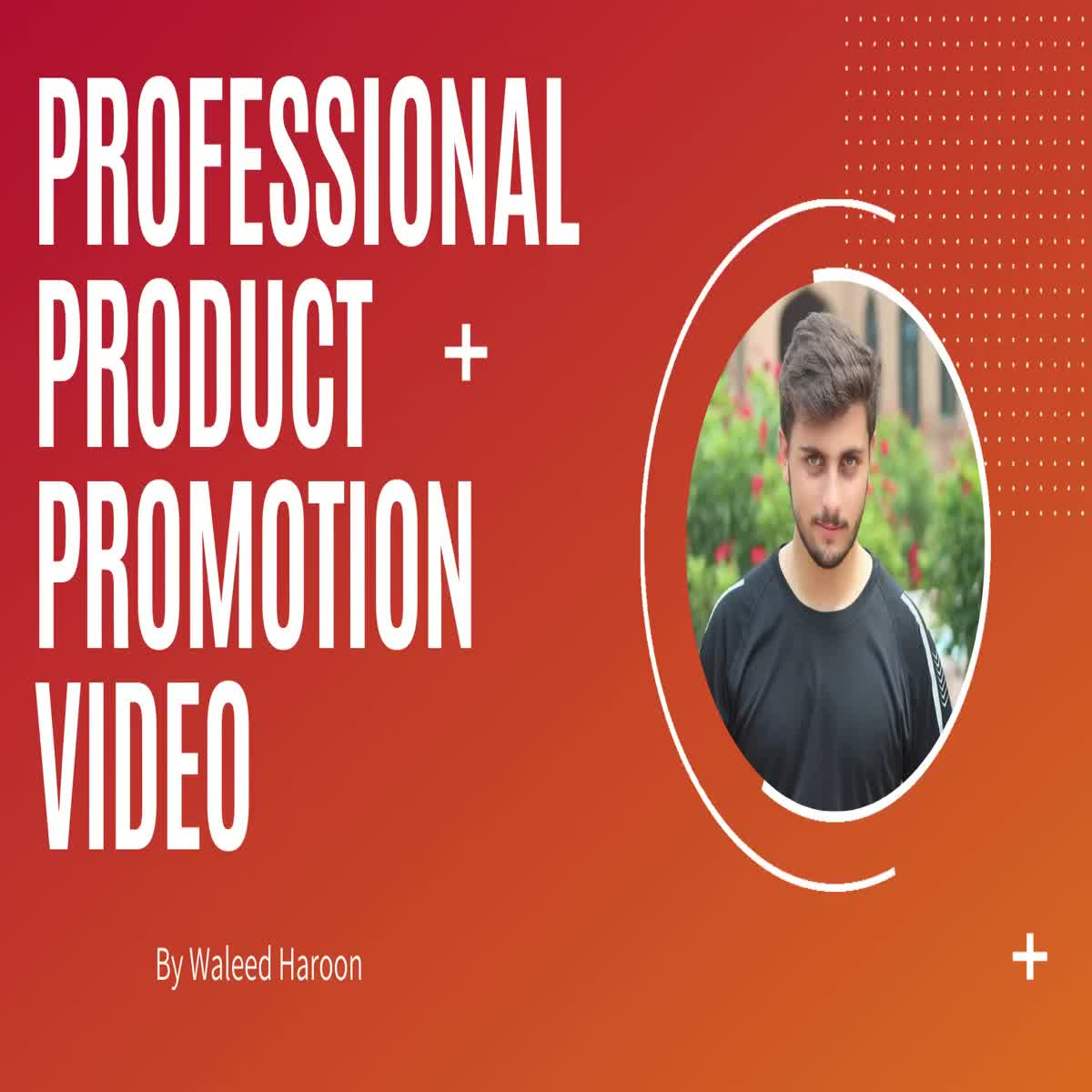 Professional Product Promotion video