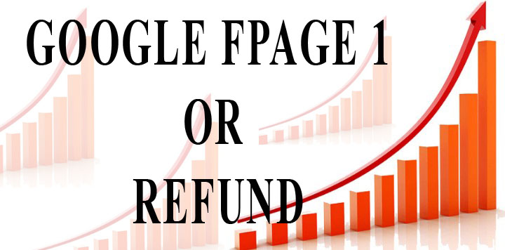 Google 1st Page Or Refund - Get Your Site To Google First Page with Our Guaranteed Backlinks Service
