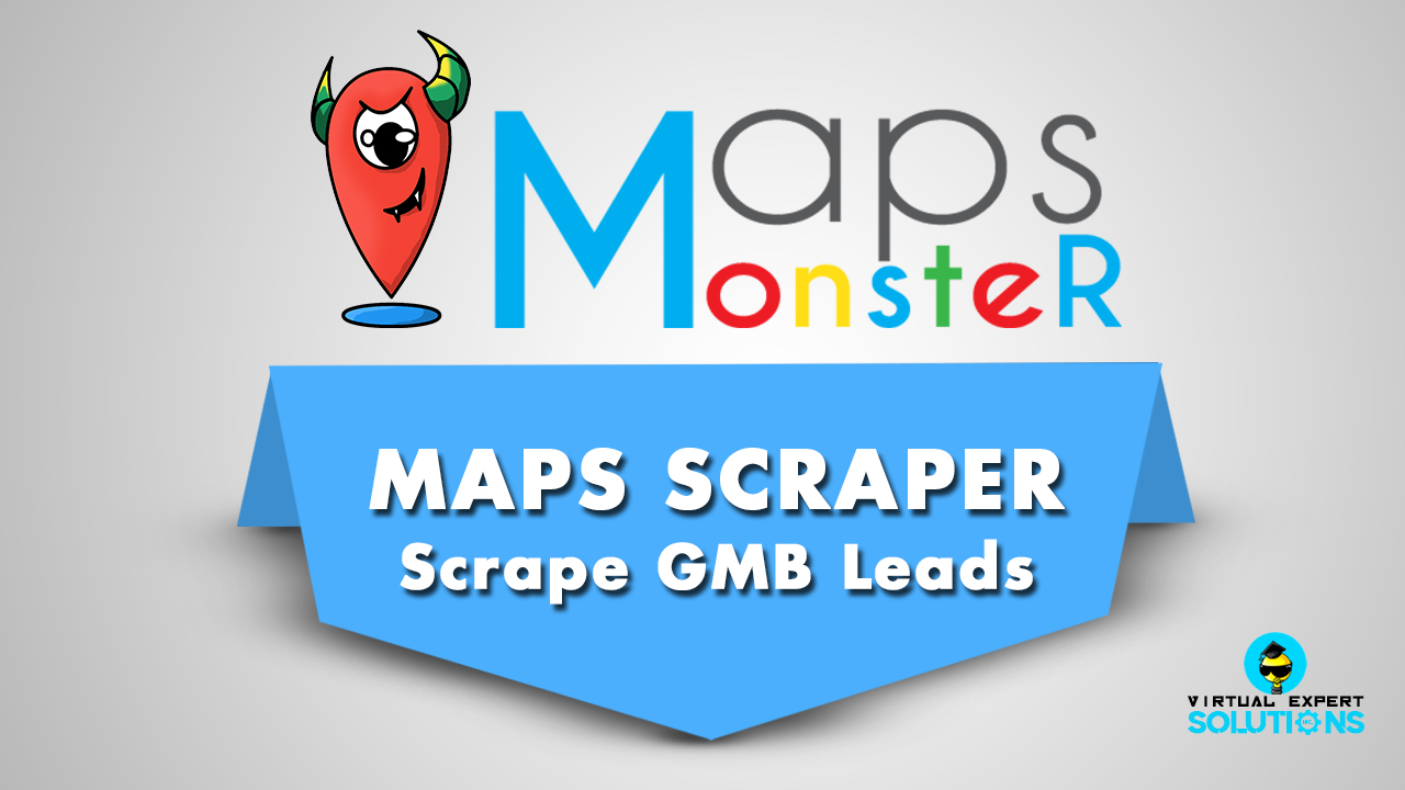 MapsMonster - Maps Scrapes & Creator