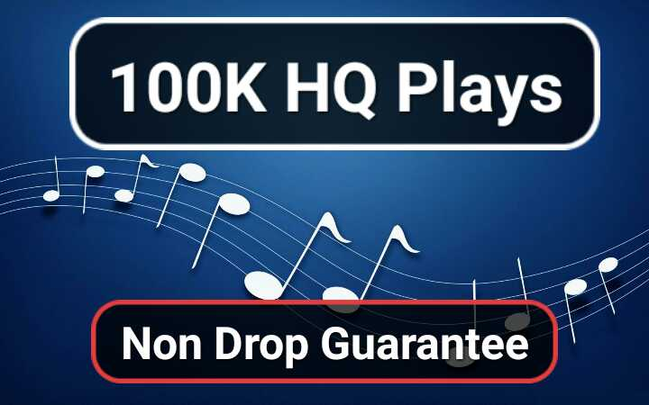Get Super Fast 5,000 High Quality Genuine Music Track promotion