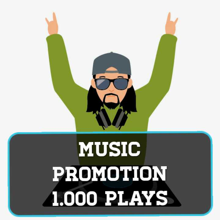 Get 1,000 Real Streams For Your Music Track Promotion