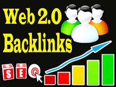 Providing 20 High Quality WEB 2.0 Backlinks High DA