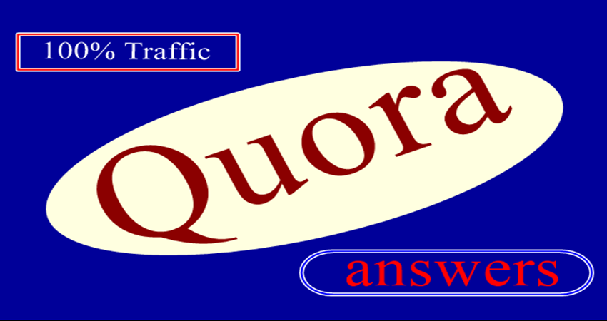 Promote your website in 10 Quora Answers with contextual link