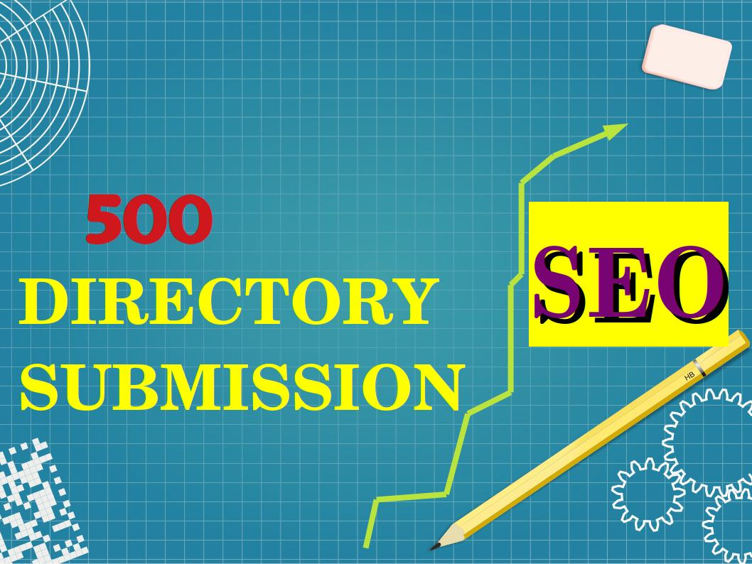I can create 500 Directory Submission For Your Website