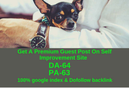Offering A Guest Post On DA 64 & PA 63 Blog With Dofollow And 100 Index From Google