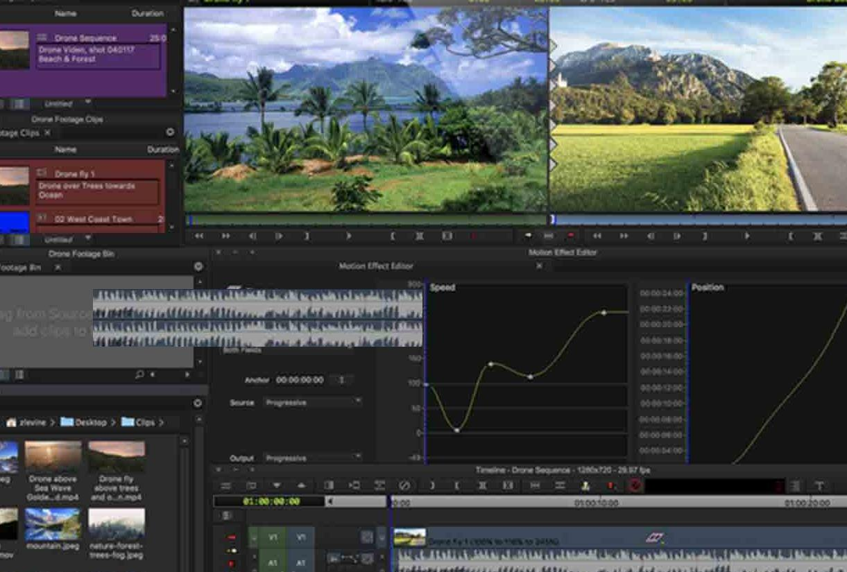 Providing Simple video editing