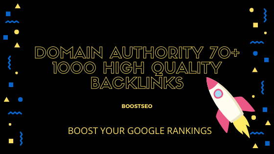 Manually Create 1000 High DA 70+ High Quality Backlinks Equal PR9 Boost Ranking