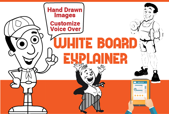 create 30 sec highly engaging whiteboard animation video