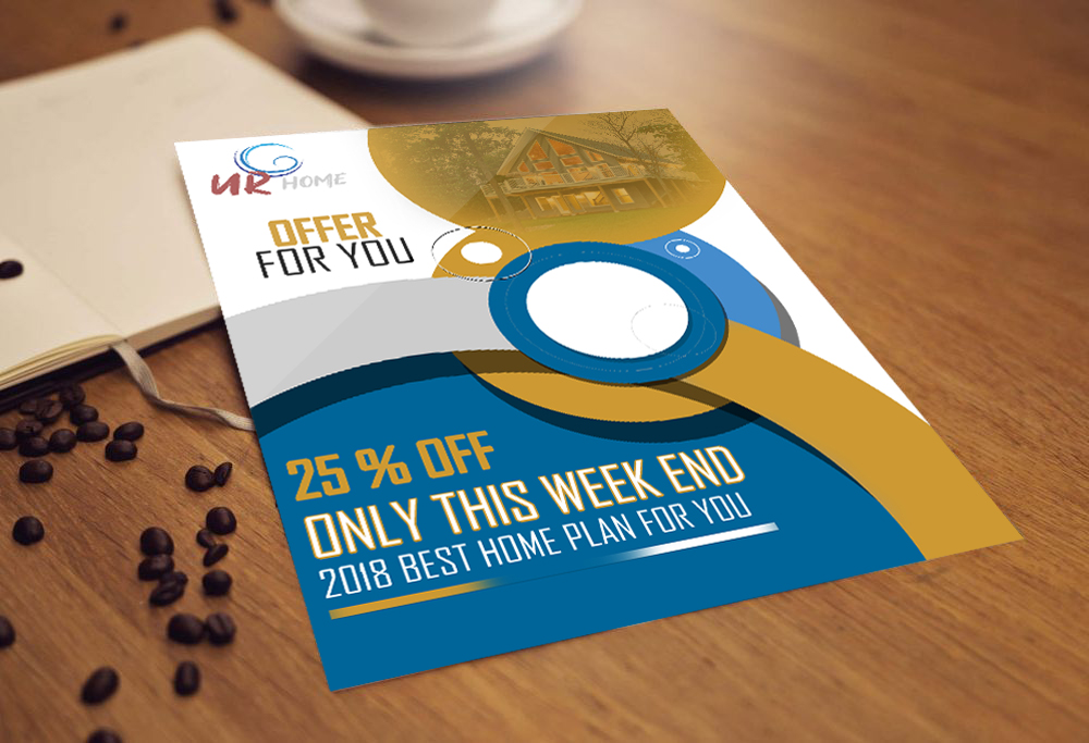 Create a Flyer and Banner Design for you