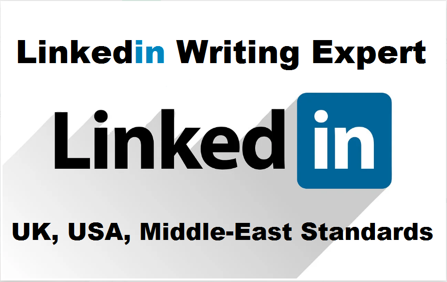 Fully write or update your linkedin profile and resume