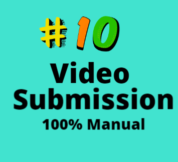 10 Video Submission Manual Service For Your Pleasure Quick Service