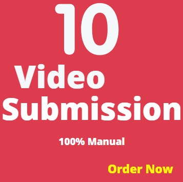 youtube Video promotion / submissions on high DA PA Sites