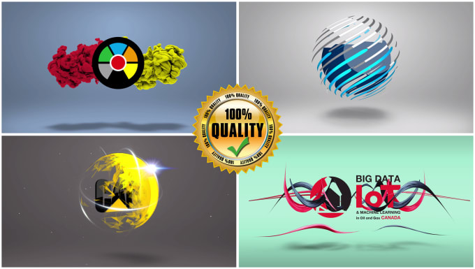 I will create splendid logo animation intro or youtube intro video