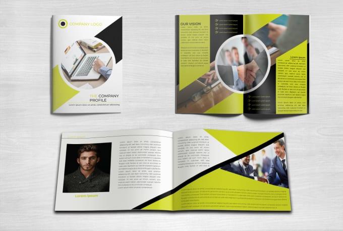 I will design flyer,  brochure,  company profile,  proposal, booklet