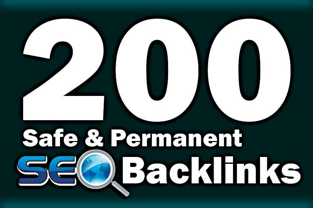 150 Unique Backlinks + 50 Dofollow seo backlinks service for link building