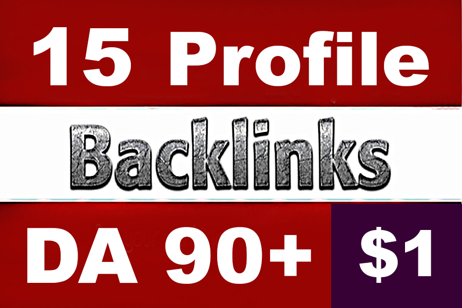 15 PR9 DA90+ White Hat SEO Profile Backlinks