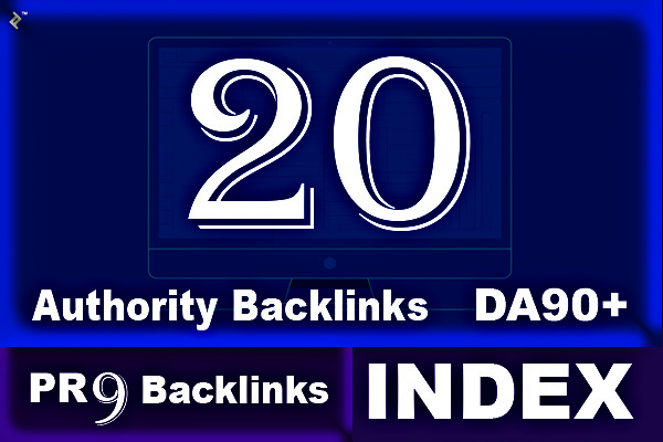 Build 20 High Domain Authority Profile Backlinks with Index