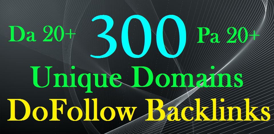 do 300 blog comments unique domains dofollow backlinks