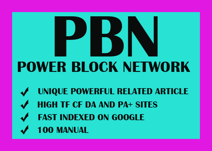5 PBN Latest Sites Homepage Permanent SEO Backlinks with unique Articles