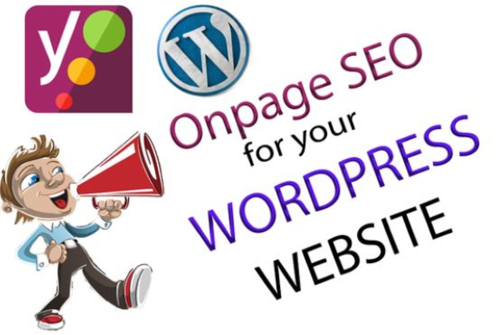 I will fix wordpress onpage or onsite issues with yoast SEO plugin