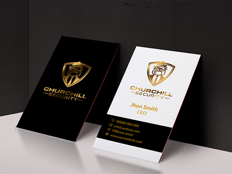 Design professional, corporate, eye catchy business cards in 12hrs