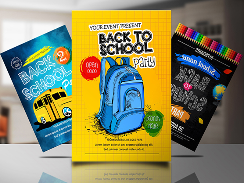design corporate, promotional, event and academic flyers within 24hrs