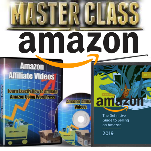 2 IN 1 MASTERCLASS AMAZON Success Course 16 Part Video Course+ Affiliate Guide+ Resell Rights