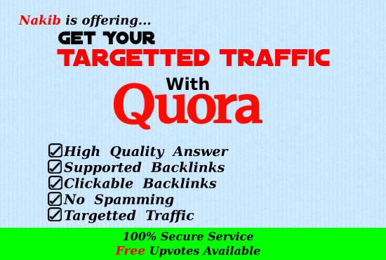 Boost Your Website Traffic With 10 Quora Answers