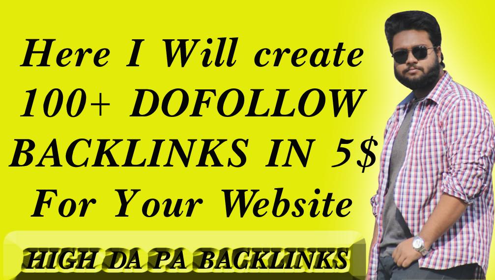 provide Dofollow Backlinks for Higher Ranks on SEO