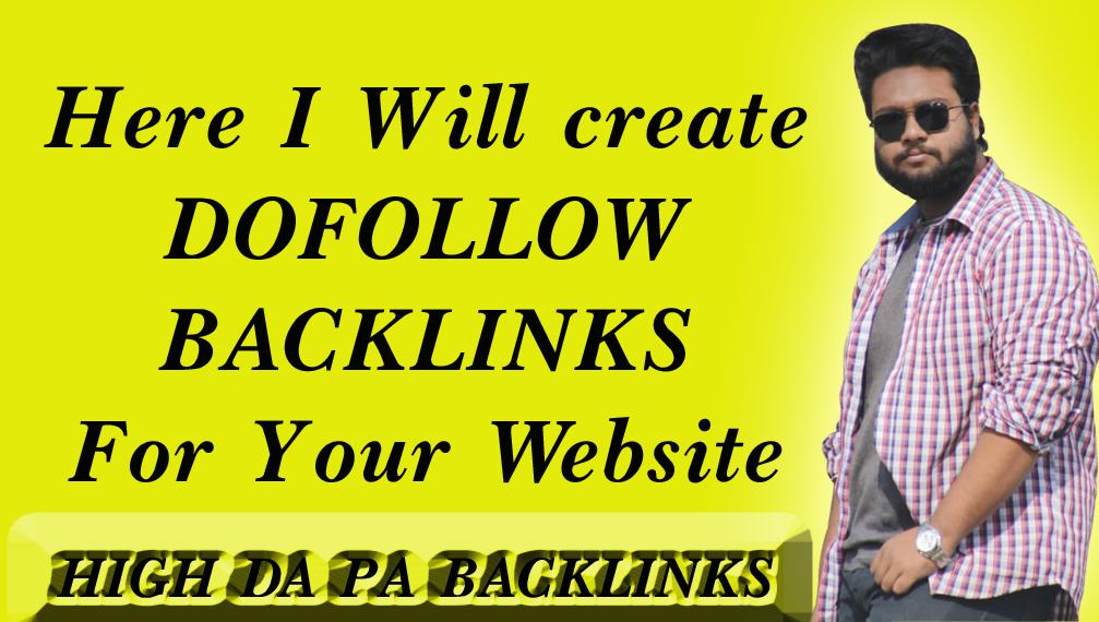 Do 25 Profile Backlinks On High PR, Da Sites And SEO Audit