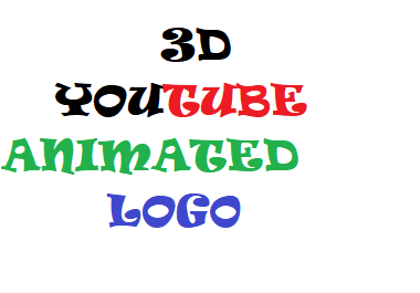 Get the best 3D YouTube animated intro video