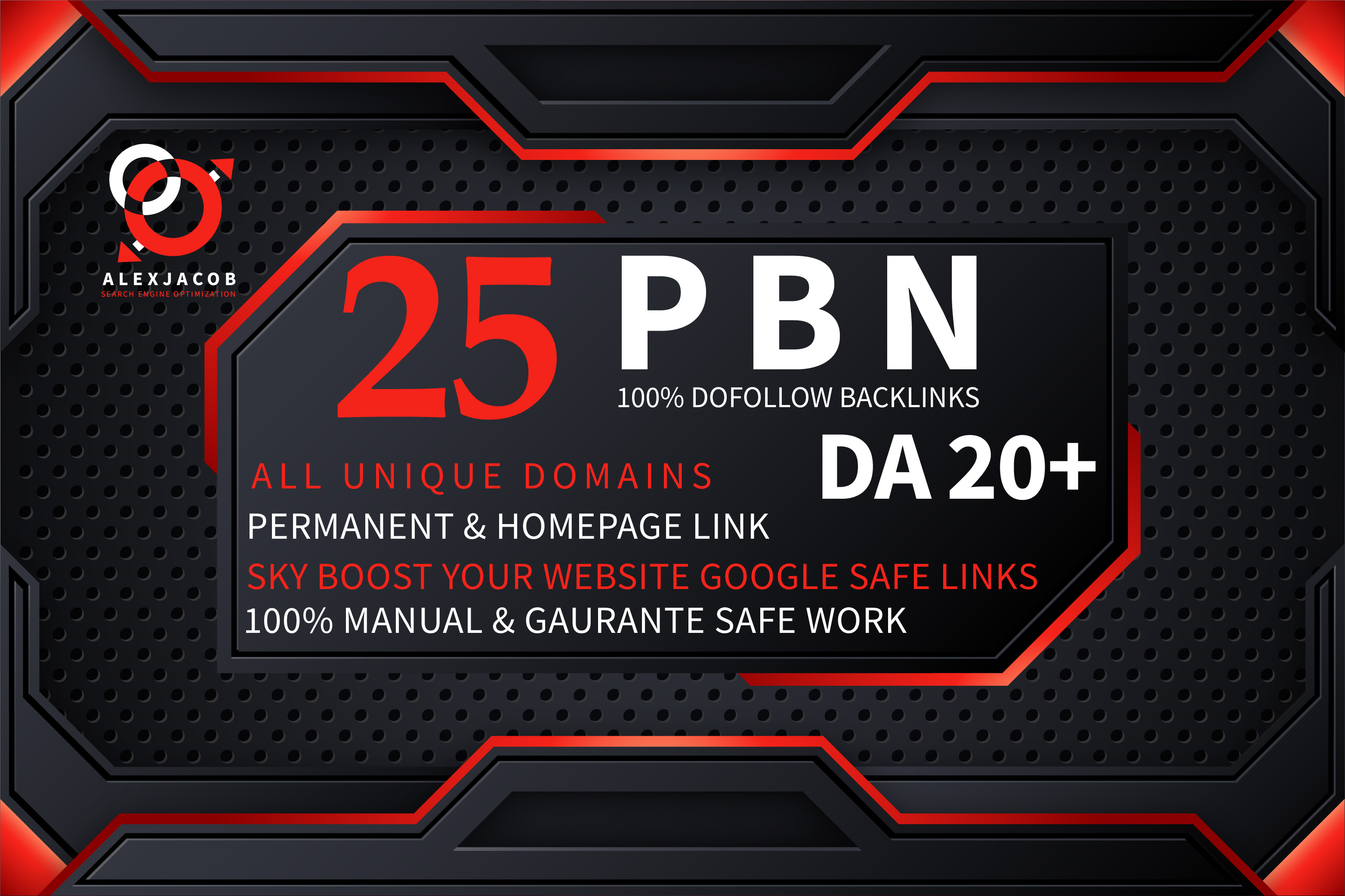 Build 25 High DA PBN Backlinks Dofollow Permanent Boost your website Ranking