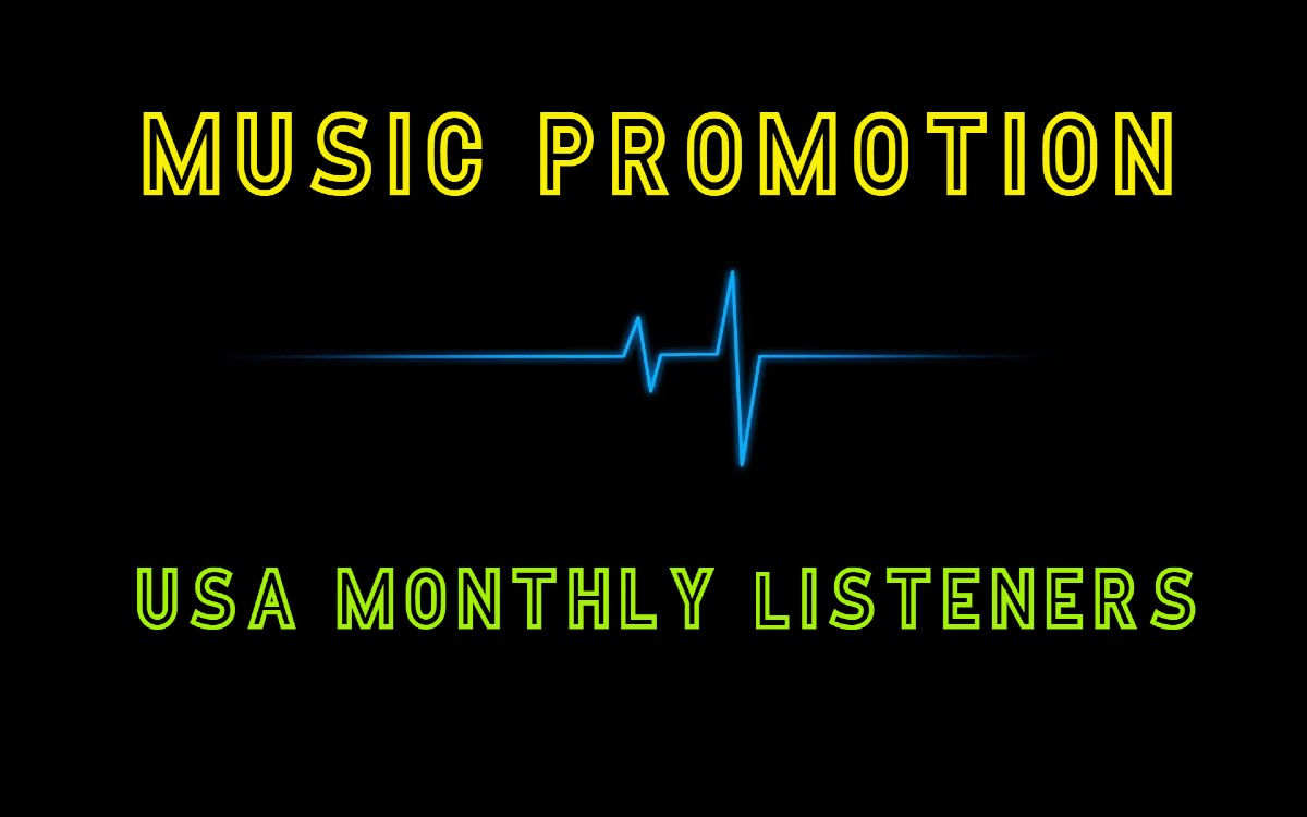 Instant Start HQ USA Monthly Listeners For Your Artist Profile Promotion