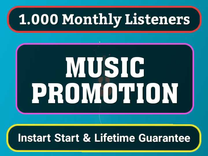 Instant Start 1,000 Monthly Listeners For Artist Profile Boost Ranking Streams