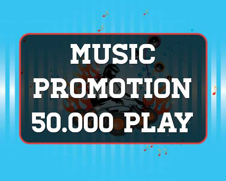 Music promotion 50,000 Real High Quality Music Promotion