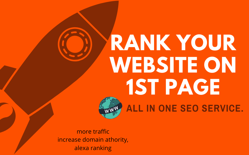 Rank Your Wordpress Website on 1st Page - All IN One SEO Service. Increase SERP's