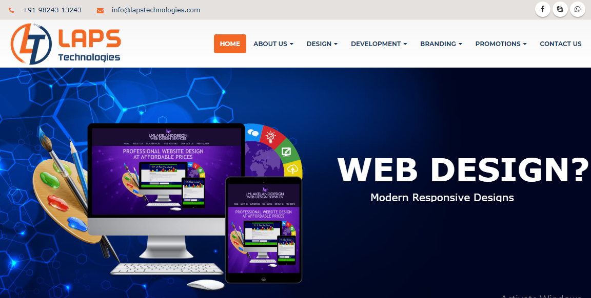Complete Professional Website Designing Service To Run Your Business Online Today