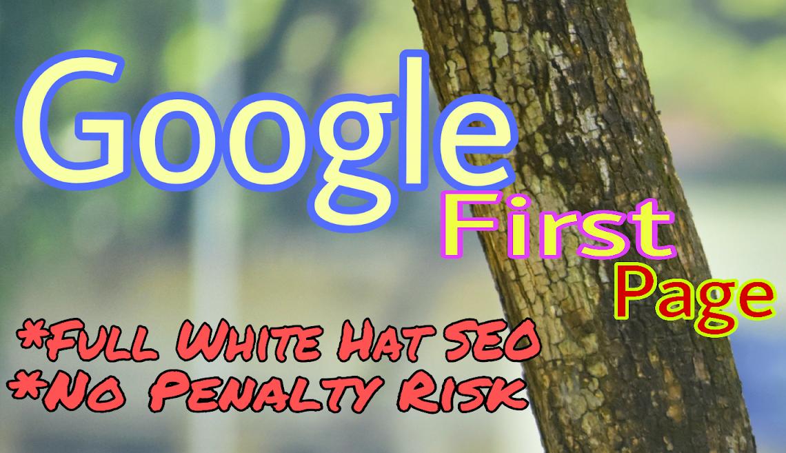 Guaranteed Ranking on Google Frist Page
