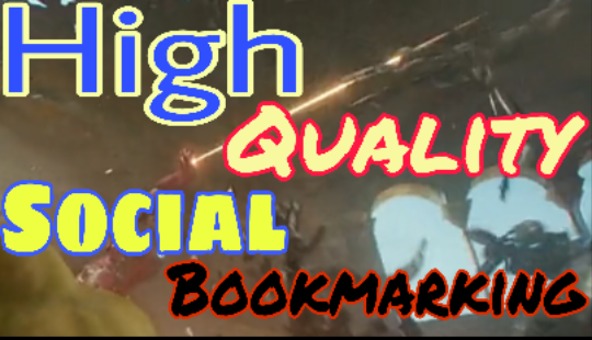 40 High Quolaity Social bookmarking links