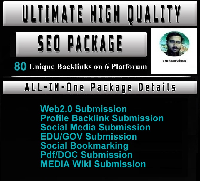 All In One 80 Manual SEO Link Building Service