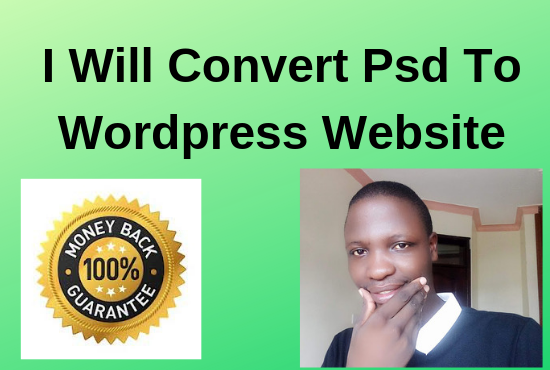 I'll convert psd to wordpress website