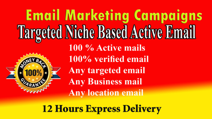 I will collect 1K targeted email address list for Marketng