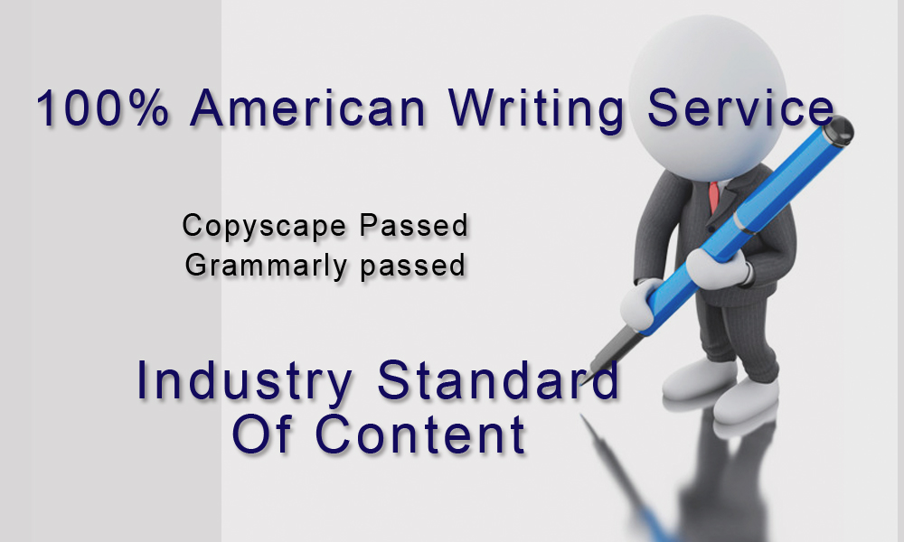 American Writing Service - The home to native (US-UK-CA) content writers -500 words