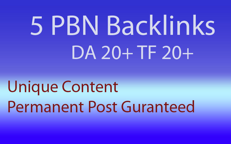 High Quality Speed Booster PBN Backlinks