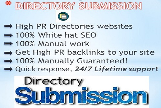 Do 1000 NIche Directory Submission Manually Backlinks With DA-PA-TF,  100-40 From PR10 To PR1 Sites f