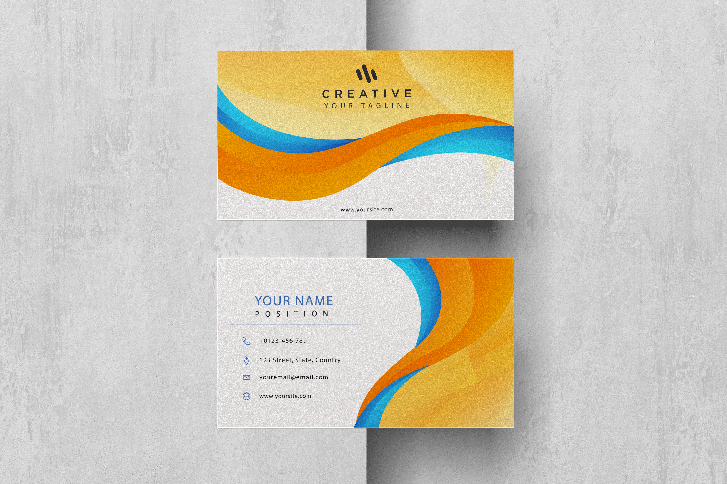 I will create professional business card design