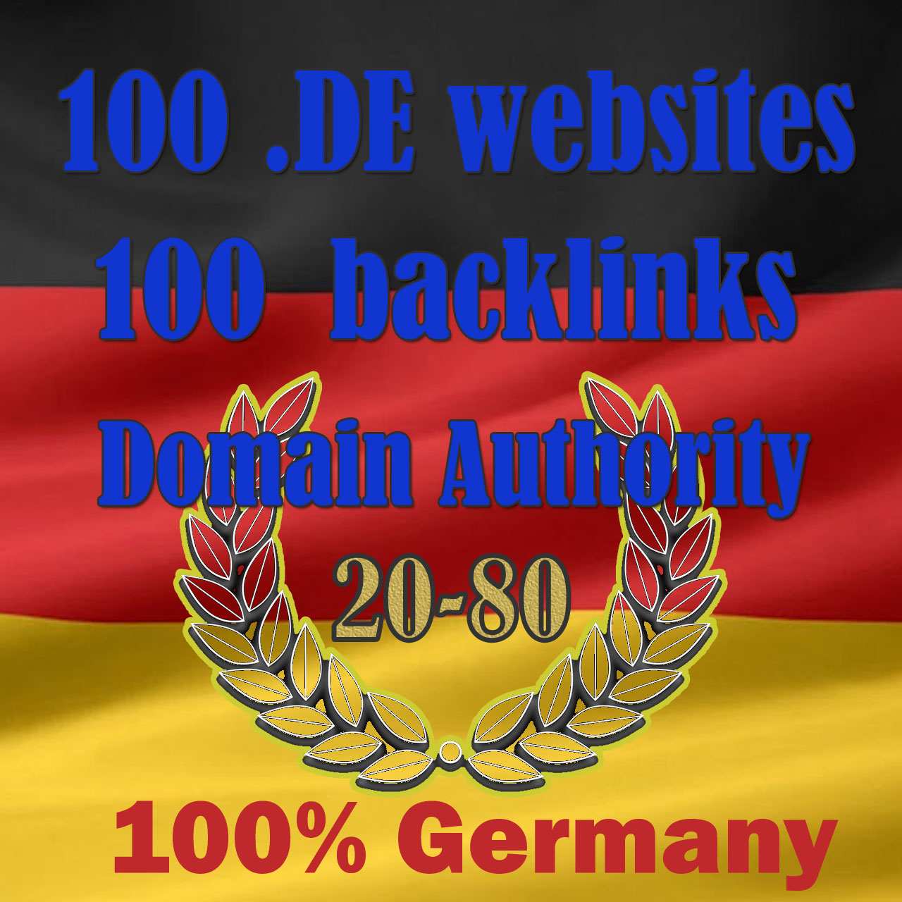 High DA German seo backlinks from 100 DE websites high authority