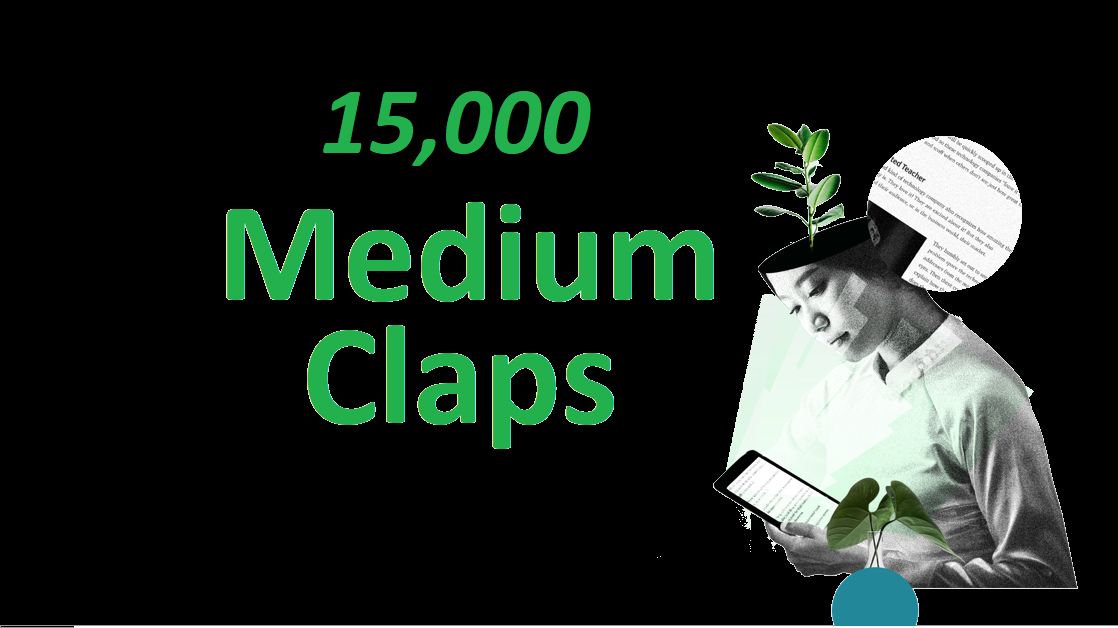 Provide you 15,000+ Random USA Excellent Medium claps
