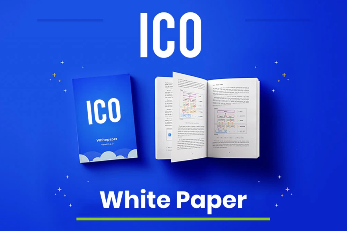 Create and design your ico, sto, ieo whitepape